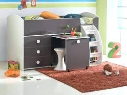 lit mezzanine combiné bureau lit enfant combine bureau lit combinac et bureau enfant milo