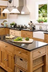 oak kitchen ideas kitchen with oak cabinets home interiror and exteriro design