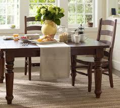 home design glamorous pottery barn francisco table favorable