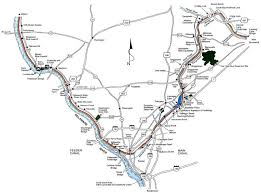 r aration canap delaware and raritan state park park map