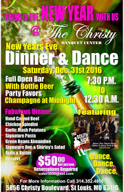 new year s st louis new years dinner st louis banquet open bar