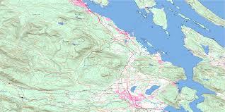 duncan bc maps free topographic map sheet 092b13 at 1 50 000