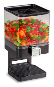 wall mounted dry food dispenser candy u0026 coffee bean dispenser portion controlled 1 gallon container