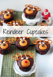 reindeer cupcakes comfortably domestic
