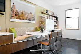 Built In Banquette Is The Home Office Going The Way Of The Dinosaurs Chicago Tribune
