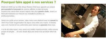 service de cuisine à domicile chef a domicile draguignan jean luc roncalli draguignan