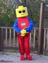 Kids Lego Halloween Costume Homemade Lego Costumes