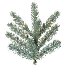 7 5 u0027 slim colorado blue spruce tree artificial christmas tree with