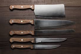 knives for kitchen use five knives every home chef should own