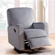 Glider Recliner Chair Abbyson Living Bailey Swivel Glider Recliner Chair Gray Bj U0027s