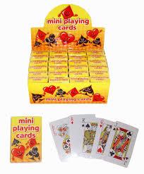 24 x packs of mini cards wholesale bulk buy bag