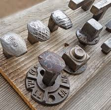 authentic railroad spike cabinet knob cabinet pull rustic