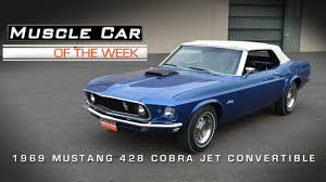 1969 ford mustang convertible sale car of the week 27 1969 ford mustang 428 cobra jet