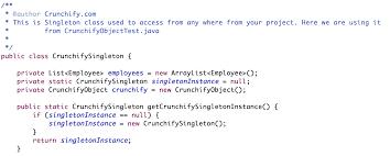 pattern design java thread safe and a fast singleton implementation singleton design