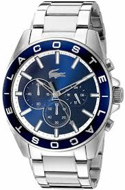 watches chronograph s lacoste westport stainless steel chronograph 2010856