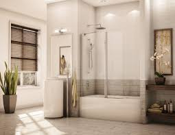 tub with glass shower door tub shower doors