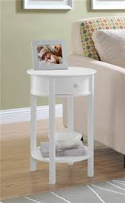 cheap white end tables amazon com round end table in white kitchen dining