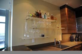 Glass Shelves For Kitchen Cabinets Bar Shelves For Home 84 Trendy Interior Or Bar Glass Shelves