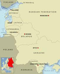 former soviet union map the former soviet union 2004 ukrainians and baltic