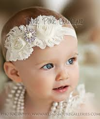 baby girl hair bands ivory headband headband baby girl headbandnewborn