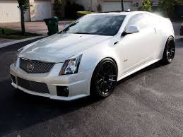 cadillac cts 20 inch wheels find used 2013 cadillac cts v coupe pearl white 20 inch wheels 6k