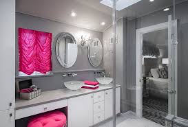 pink and gray bathroom ideas way to add pink to your trendy gray