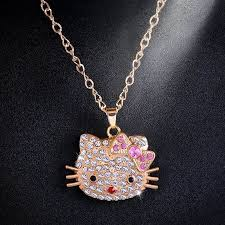 long crystal pendant necklace images Cute fairy angel pendant necklace gold chain long crystal jpg