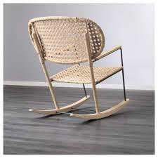 grönadal rocking chair grey natural ikea
