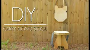Plywood by Diy Plywood Folding Stool Easy Woodworking Project Izzy Swan