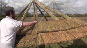Mexican Thatch Roofing by Thatch Tiles How To Youtube