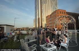 Top Rooftop Bars In London The Uk U0027s Top Rooftop Bars Daily Mail Online