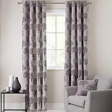 buy john lewis oakley trees eyelet lined curtains john lewis