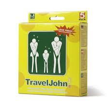 Eco Bag by Amazon Com Traveljohn Disposable 5 Pack Vomit Urine Bag For