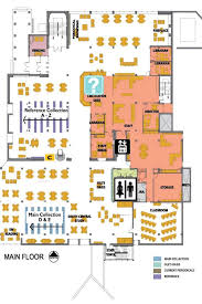 map floor plan mikkelsen library