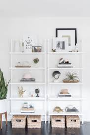White Wicker Bookcase by Best 25 Bookcase White Ideas On Pinterest White Bookshelves