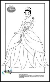 disney princess tiana coloring pages getcoloringpages com