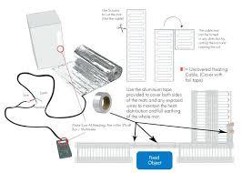 electric underfloor heating wiring diagram also wiring diagrams