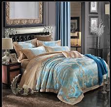Silk Duvet Set Aliexpress Com Buy Embroidery Jacquard Home Textile Bedding Set