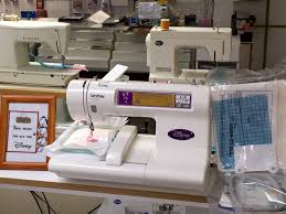 brother pr620 multi needle embroidery machine with extras for