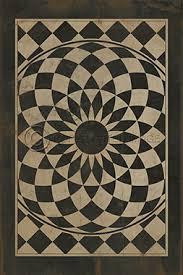 pattern 1 we re all mad here vintage vinyl floor cloths by
