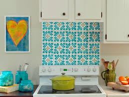 affordable painted backsplash home painting ideas