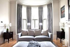 Rods For Bay Windows Ideas Curtain Rod For Bay Window Ideawall Co