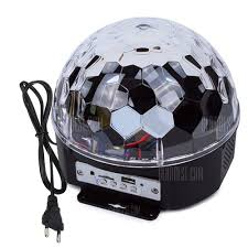 led disco ball light youoklight rgb bluetooth led disco ball light dj stage lighting ac85