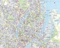 map of copenhagen copenhagen map copenhagen denmark mappery