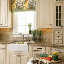 Country Style Kitchen Cabinets Home Design - Country white kitchen cabinets