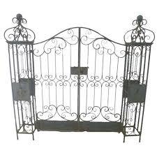 vintage metal ornamental garden gates homegenies