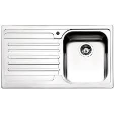 lavello cucina acciaio inox cucina acciaio inox venezia apell 86x50 gocciolatoio a sinistra