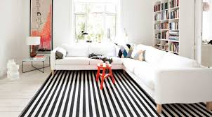Pink And White Striped Rug Tip Of The Week Black And White Stripped Rugs Décor Aid