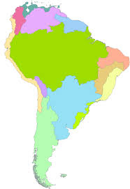 South America Rivers Map by Major River Basins And Basin Complexes Of South America Amazon