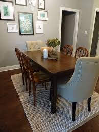 should living room and dining room rugs match dining room decor
